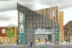 An artists impression of the new arts venue. Picture: Burgess Hill Town Council