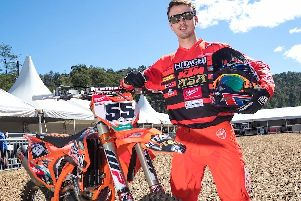 Graeme Irwin is a former British motocross champion.