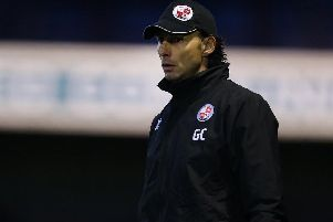 Gabriele Cioffi was appointed by Crawley in the summer