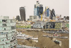 Brett Hudson's submitted work, London Skyline