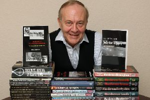True crime author John Eddleston. Photo by Derek Martin DM15224764a