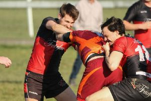 Despite a second half comeback from Plumpton Heath RAMS were too strong and can look forward to a semi-final at home