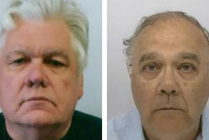 Antony Blakey, 68, from South Terrace, Littlehampton, and John Banyard, 70, from Dickins Way, Horsham. Picture: HMRC