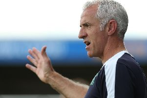 Craig Brewster when he was assistant manager of Plymouth (Photo by Pete Norton/Getty Images)