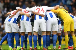 Brighton and Hove Albion players
