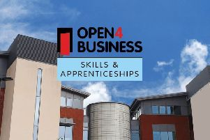 The Open 4 Business event is being held at the Harlands Road college site in Haywards Heath