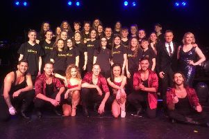 Ariel Choir with Brendan Cole and the cast of Show Man