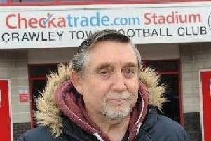 Crawley Town season ticket holder Geoff Thornton