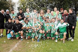 Chichester City - SCFL premier division title winners / Picture by Kate Shemilt