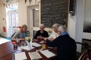 Members at the Cherry Tree Centre in Burgess Hill