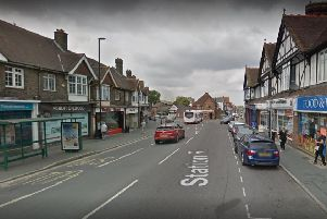 The break-in happened at an outbuilding in Station Road, Burgess Hill. Picture: Google Street View