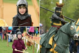 Hundreds of people attended the St George's day festival.