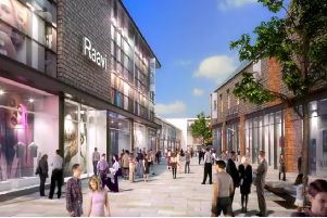 An artist's impression of the Martlets redevelopment. Picture: NewRiver