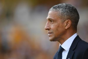 Chris Hughton (Photo by Mike Hewitt/Getty Images)