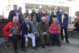 The Lib Dems and Greens in Burgess Hill formed a partnership going into May's council elections