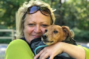 Quinn reunited with his overjoyed owner Melissa Moremon after an 11-day ordeal SUS-190515-111513001