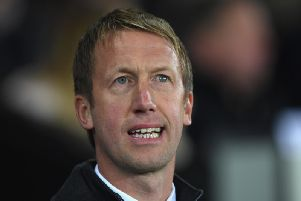 New Brighton & Hove Albion boss Graham Potter. Picture courtesy of Getty Images