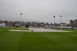 Rain's a pain at Hove
