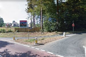 The current junction (photo from Google Maps street view)