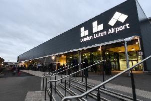 London Luton Airport Terminal exterior. Photo by London Luton Airport