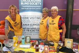 Can you help the South Lincolnshire Blind Society in its work in the Boston area?