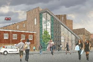 An artist's impression of the new Beehive community arts centre in Burgess Hill. Picture: Burgess Hill Town Council