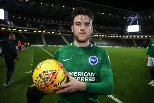 Aaron Connolly has impressed for Brighton under-23s (getty)