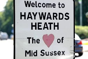 Meet the reporters at Haywards Heath town hall