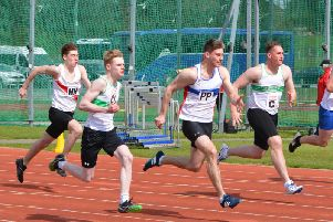 DJ Barth (vest CC) and Cellan Robinson (C) in action for Chi Runners at Basingstoke earlier in the season / Picture by Lee Hollyer