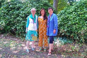 Sarah Sharp, Natalie Hume and Heather Barrie, three Green councillors at Chichester District Council EU-qIjDKrfWrmEusiFsn