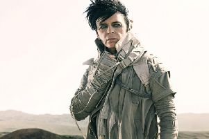 Gary Numan is coming to Worthing. Picture: Stephen Sheldrake