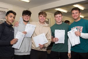 A Level results day at Aylesbury Grammar School