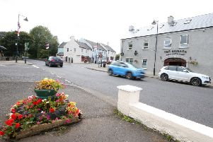 Main Street in Armoy where a man was seriously assaulted and struck by a car.''Picture by Jonathan Porter/PressEye