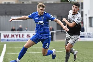 Dungannon Swifts' Dylan King.