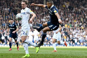 James Meredith in action for Millwall last season. Picture: George Wood/Getty Images