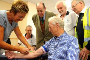 The prostate blood tests are simple and free. Picture: Steve Robards