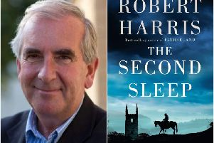 Robert Harris will be talking about his new book The Second Sleep at an event in Warwick next week. Photos supplied by Warwick Books.