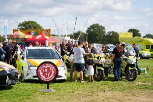 A record number of people attended last year's Gatwick Airport fun day