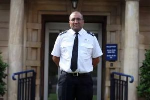 Superintendent Dennis Murray said police will be coming after those involved in knife crime