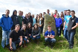 August saw Holestone welcome 12 Young Farmers' Club members from Ayr in Scotland