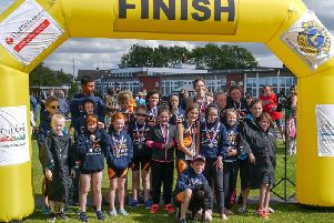 Rugby Junior Triathlon Club at Southam