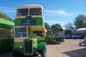 The vintage bus event will take place on Sunday, October 6