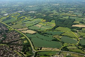 North Horsham site (photo from HDC planning portal). SUS-160408-161431001