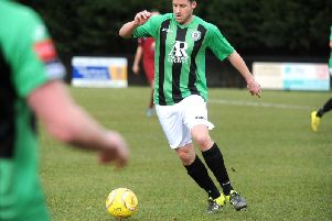 Scott Kirkwood in action during a previous spell at the Hillians