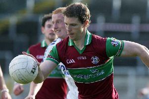 Richard Carey's point secured Eoghan Rua a draw with Slaughtneil at Owenbeg on Sunday evening.