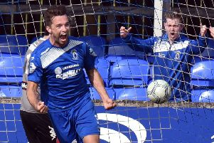 Dungannon Swifts Chris Hegarty.