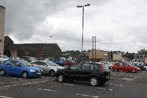 Union Road car park - one of the areas being targeted by the PSNI
