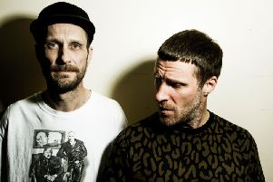 Andrew Fearn and Jason Williamson
