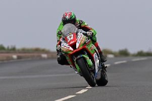 James Hillier was the 'Man of the Meeting' at the North West 200.