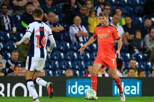 Jack Stacey in action against West Bromwich Albion last season